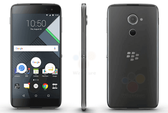 Official Specifications And Price Of BlackBerry DTEK60