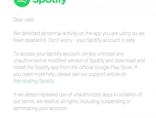 Spotify Pirated
