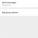 Group Admins Can Now Restrict Members From Posting/Sending Messages in Groups