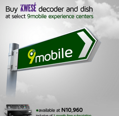 Kwesé TV Partners With 9mobile