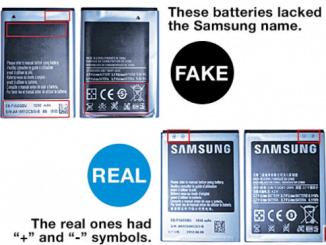 Identify Fake Samsung