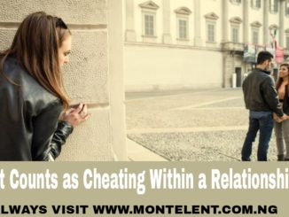 What Counts as Cheating Within a Relationship?