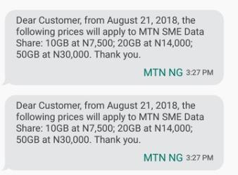 MTN SME Data