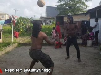 Download Comedy Video: Broda Shaggi Sowing His Football Jogging Skills