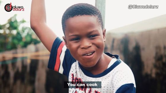 Download Comedy Video: Oluwadolarz X Tope X Ayomide X Zfancy – She Can Cook