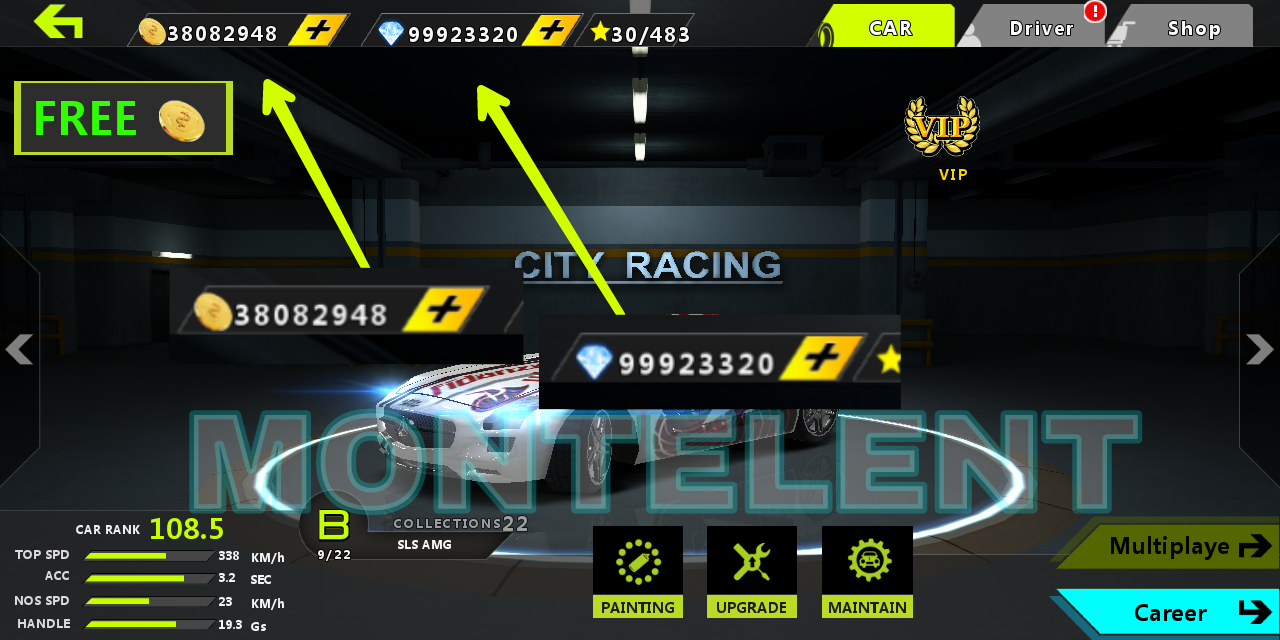 Hacked City Racing 3d Screenshot
