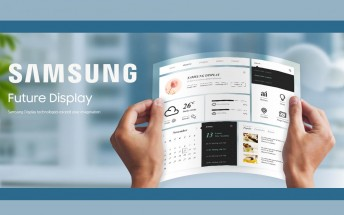 Samsung Flexible Tablet