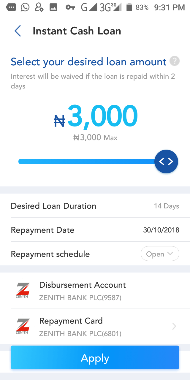 Borrow Loan In Nigeria On Palmcredit App