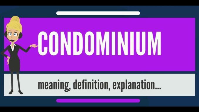 Condominium Meaning