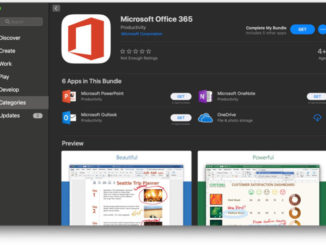 Microsoft releases Office 365 on Mac App Store