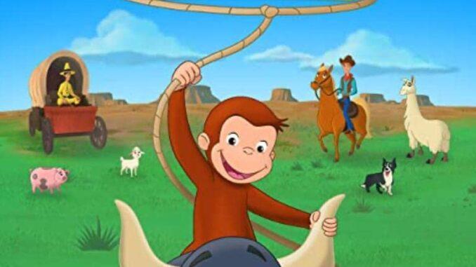 Download Curious George: Go West, Go Wild (2020) Movie Free