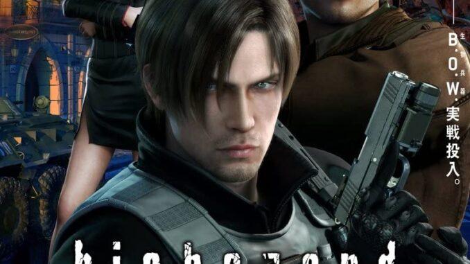 Download Resident Evil: Damnation (2012) Full Movie Free