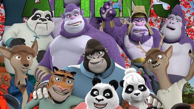 Download Panda vs. Aliens (2021) Full Movie Free