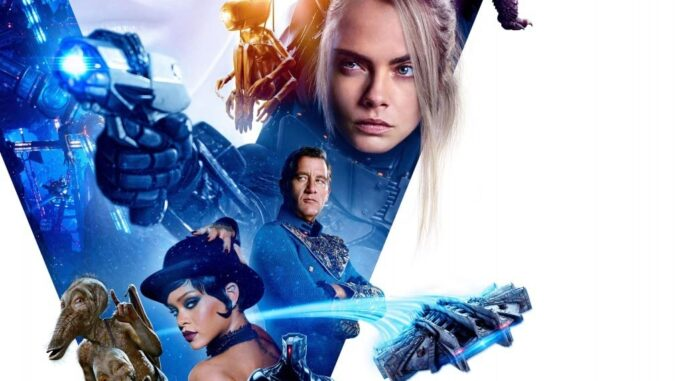 Download Valerian and the City of a Thousand Planets (2017) Full Movie Free